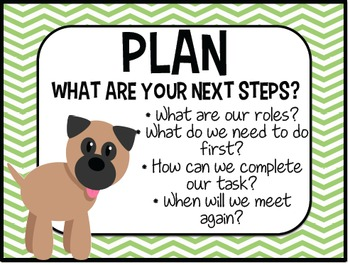 Accountable Talk - POSTERS - DOG THEME -Converstation star