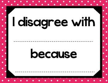 Accountable Talk - Pink Polka Dots