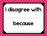 Accountable Talk - Pink Polka Dots