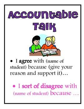 Accountable Talk Poster