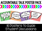 Accountable Talk Poster Pack - Chevron
