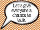 Accountable Talk Poster Pack - Chevron