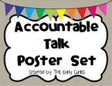 Accountable Talk Poster Set
