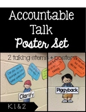 Accountable Talk Poster Set- Melonheadz