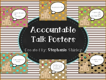 Accountable Talk Posters {Beach Themed}
