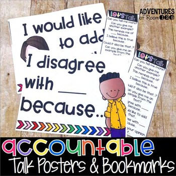 Accountable Talk Posters & Bookmarks