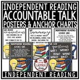 Independent Reading Posters for Higher Leveling Thinking &