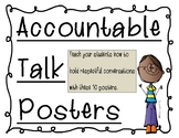 Accountable Talk Posters - Discussion Posters