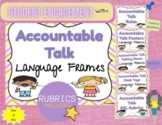 Accountable Talk Posters, Rules, Talk Stems, and Rubrics!