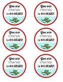 Meet the Teacher Snack Labels