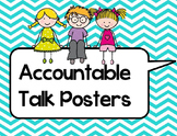 Accountable Talk Posters and Student Handouts