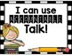 Accountable Talk Posters for Kiddos!