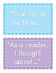 Accountable Talk Posters for Read Alouds