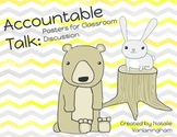 Accountable Talk: Posters for Strong Discussion- Critters