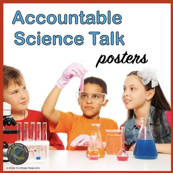 Accountable Talk Posters for the Science Lab