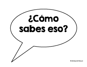 Accountable Talk Posters in Spanish