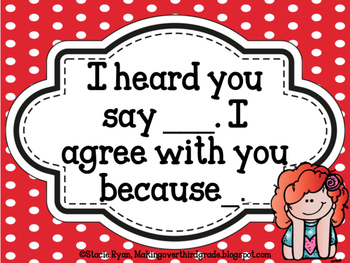 Accountable Talk (Red/White)