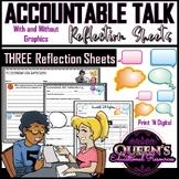 Accountable Talk Reflection Sheets (3)