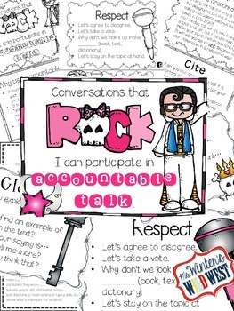 Accountable Talk Rockstars