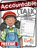 Accountable Talk Rubrics FREE