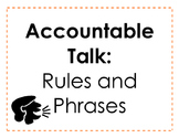 Accountable Talk - Rules and Phrases