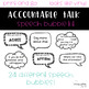 Accountable Talk Sentence Stem Speech Bubble Posters