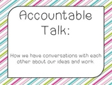 Accountable Talk Sentence Stems