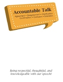 Accountable Talk Signs