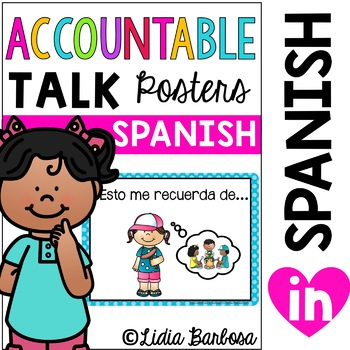 Accountable Talk Posters { Spanish }