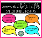 Accountable Talk Speech Bubble Posters