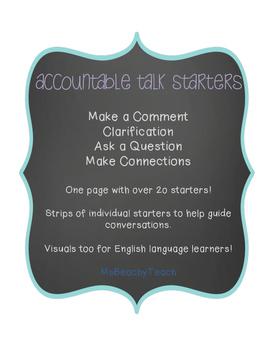 Accountable Talk Starters
