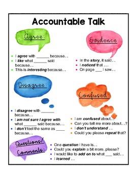 Literacy Accountable Talk