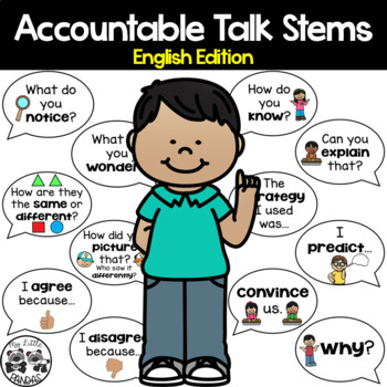 Accountable Talk Stems for Primary Students