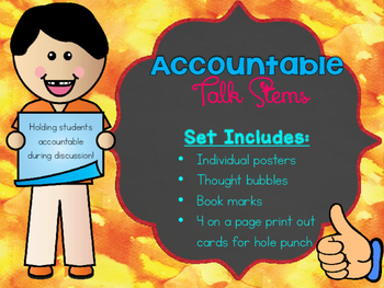 Accountable Talk Stems Bundle!
