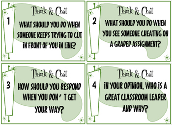 Accountable Talk Stems & Discussion Cards
