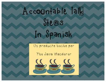 Accountable Talk Stems (Spanish)