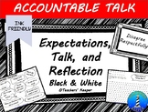 Accountable Talk Stems and Expectations