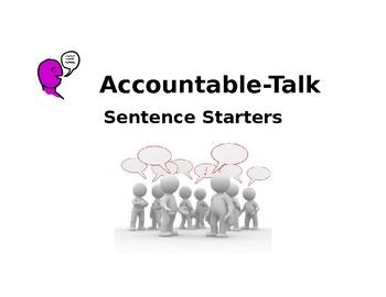 Accountable Talk Stems for Spanish Class