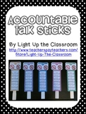 Accountable Talk Sticks