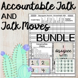 Accountable Talk and Talk Moves BUNDLE Cactus Theme Posters