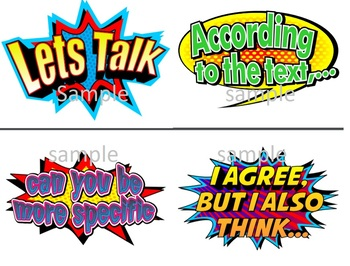 Accountable Talk - Super Hero Theme