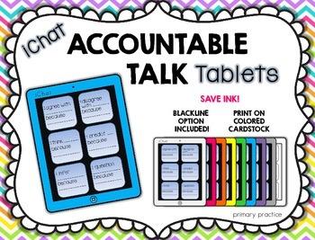 Accountable Talk Tablets