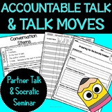 Accountable Talk Discussion Trackers and Student Self-Assessment Printables