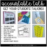 Accountable Talk {Talking Stems, Bookmarks, Mini-Folders,