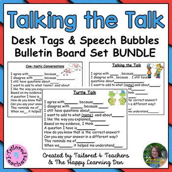 Accountable Talk & Classroom Conversations (Cows, Turtles,