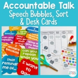 Accountable Talk Wall Display and Sorting Activity