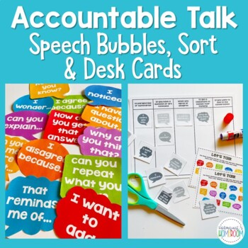 Accountable Talk Wall Display and Sorting Activity