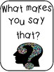 Accountable Talk: What Makes You Say That?