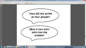 Accountable Talk and Accountable Question Stems