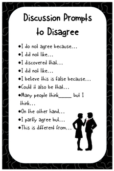 Accountable Talk and Discussion Posters
